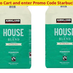Starbucks Whole Bean Home Espresso Or Decaf Coffee (Past Best By Dates) - Ships Next Day! 2 Pack: