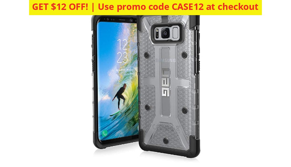 Uag Samsung Galaxy S8+ Plasma Feather-Light Rugged Military Drop Tested Phone Case - Use Promo Code