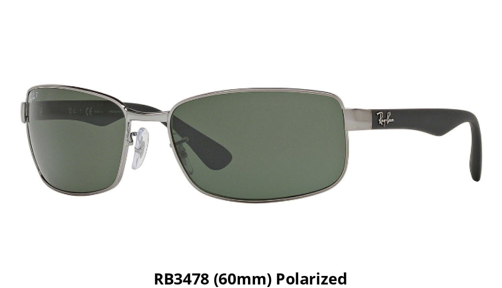 8bfc185d5ac Ray-Ban Polarized Sunglasses Liquidation Sale - Ships Next Day! Rb3478 (60Mm )