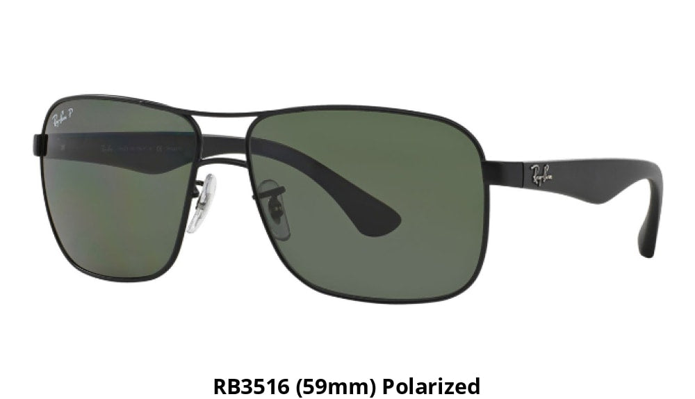 5a3eff3002 Ray-Ban Polarized Sunglasses Liquidation Sale - Ships Next Day! Rb3516  (59Mm)