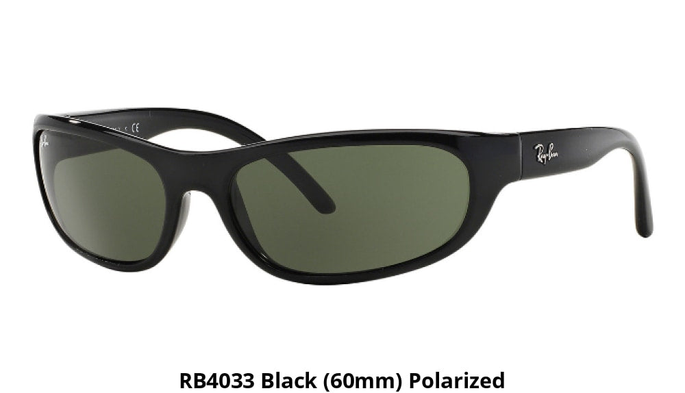 a0958b52c4c Ray-Ban Polarized Sunglasses Liquidation Sale - Ships Next Day! Rb4033  Black (60Mm