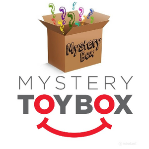 HUGE PRICE DROP: The Ultimate Toys, Games & Novelty Gifts Mystery Box - 15-20 items Guaranteed - Ships Next Day!