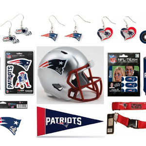 5 Piece: NFL Team Fan Bundle - 5 Random Fun Cool NFL Licensed Products!