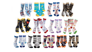 Pack of 4: Funny Socks (Randomly Selected) - Ships Next Day!