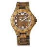 Earth Wood Ray Unisex Watch / Bracelet with Date - Ships Next Day!