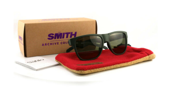 SMITH LOWDOWN POLARIZED MEN'S SUNGLASSES - Ships Next Day!
