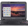 "HUGE Price Drop: Lenovo N21 11.6"" LED Chromebook Bundle w/ Skin & Charger (Certified Refurbished) - Ships Next Day!"