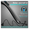 Amazon's Choice: Cordless Back Massager - 6 Interchangeable Nodes, 6 Speeds & 6 Modes - Ships Next Day!