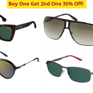 Buy One Get 2Nd 35% Off! Carrera Unisex Sunglasses Blowout - Brand New Ships Next Day!