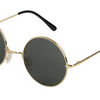 Mechaly Classic Round Style Gold Sunglasses - Ships Next Day!