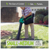 Electric Handheld Weed Eater - 200 MPH Handheld Leaf Blower/Vacuum WE12B - Ships Same/Next Day!