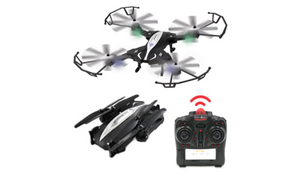 X4 Retractor Foldable Drone w/ Built In Camera - Ships Next Day!