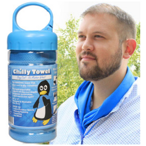 2 or 3 Pack: Chilly Towels - Keep Your Cool All Day - Ships Same/Next Day!