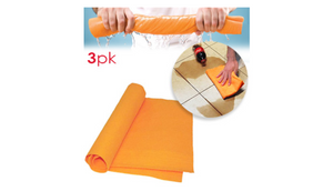 3, 6 or 9 Pack: Super Large & Absorbent Shammy Towels - Ships Next Day!