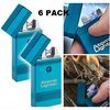 2, 4 or 6: Atomic Lighters - No Fuel & USB Rechargeable - Ships Next Day!