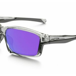 HUGE PRICE DROP: Oakley Chainlink Clear/Violet Sunglasses - Ships Next Day!