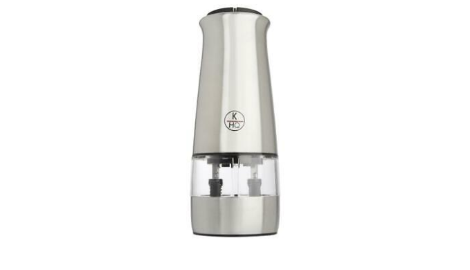 KitchenHQ Electric Dual Spice Mill (New Open Box) - Ships Next Day!