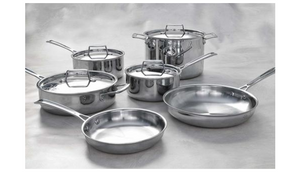 FINAL PRICE DROP: Lenox L-12360 Cookware Set 10 Piece Stainless Steel - Ships Next Day!