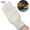 Miracle Heat Gloves - Up to 475 Degrees (Packs of 2,4,6 Available) - Ships Next Day!