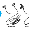 Fuze 2-In-1 Bluetooth And Wired Earbuds - Ships Next Day