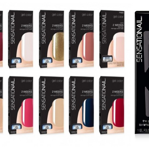 PRICE DROP: 10 Pack - SensatioNail Gel Nail Polish + Removal Tool - Assorted Suprise