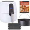 Power Air Fryer Elite 5.5-qt 6-in-1 Digital Air Fryer w/ Cake Pan (New/Open Box) - Ships Next Day!