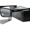 Oakley Polarized Chainlink Sunglasses (Matte or Shiny Black) - Ships Quick!