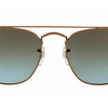 Ray-Ban Men's Bronze Copper w/Blue/Brown Lens Sunglasses(RB3557 900396 54MM)