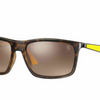 Ray-Ban Tortoise-Yellow Frame & Brown Gradient Lenses Sunglasses ( RB4228M F60913)