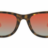 Ray-Ban Wayfarer Ease Tortoise Orange Gradient Flash Sunglasses (RB4340 710/4W 50)