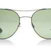 Ray-Ban Matte Gunmetal/Black Green Classic Polarized Sunglasses (RB3536 029/9A)