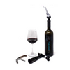 10 Piece Wine Accessory Set With Pump, Stoppers and Corkscrew - Makes a Great Gift! (Ships from Amazon Warehouse)