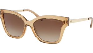 BLOWOUT: Michael Kors Barbados Light Brown Crystal Sunglasses - Limited Quantity / Ships Quick!