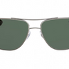 RAY-BAN Dark Green Rectangular Sunglasses RB3483 004/71