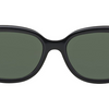 Ray-Ban Oval Black/Green Sunglasses (RB4198 601 55)