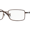 Ray-Ban Rectangular Full-Rim Men's Eyeglasses
