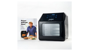 HUGE PRICE DROP: Power Air Fryer 10-in-1 Pro Elite Oven 6-qt with Cookbook (New/Open Box) - Ships Next Day!