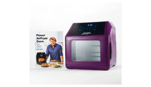 ALMOST GONE! Power Air Fryer 10-in-1 Pro Elite Oven 6-qt with Cookbook (New/Open Box) - Ships Next Day!