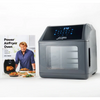 LOWEST PRICE EVER: Power Air Fryer 10-in-1 Pro Elite Oven 6-qt with Cookbook (New/Open Box) - Ships Next Day!
