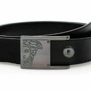 Versace Collection Men's Saffiano Leather Belt - Ships Next Day!