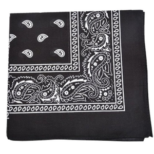 15 Pack: Everyday Wear 100% Cotton 22 x 22 Bandana - Ships Quick!