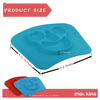 2 Pack: Mess Free Silicone Suction Placemats - Safe for all ages - Ships Quick!