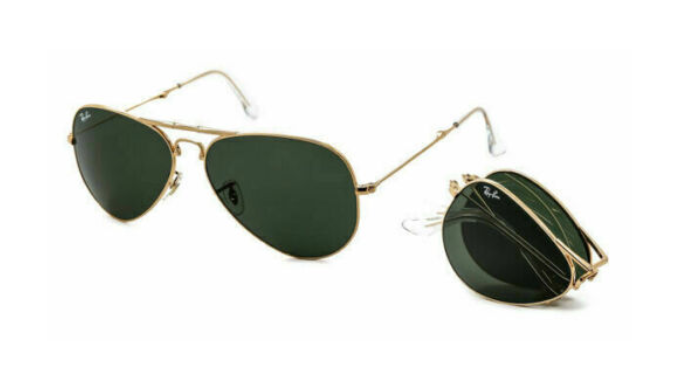 PRICE DROPS: Ray-Ban Aviator Folding Sunglasses - Ships Next Day!