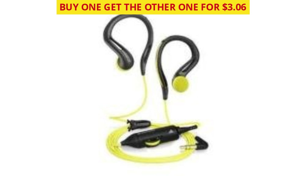 Sennheiser Omx 680 Sports In Ear Headphones W/ Volume Control (Certified Refurbished) - Ships Quick!
