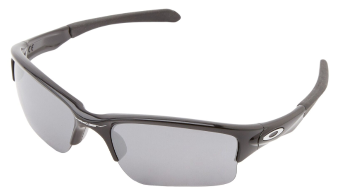 Oakley Quarter Jacket (Youth Fit) Polished Black or Fire Iridium - Ships Next Day!