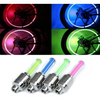 2 Pk: Motion Activated LED Valve Stem Lights - Assorted Colors