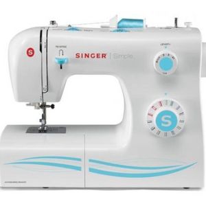 Singer 2263 Sewing Machine Simple, 23 Built-In Stitches and Four Step Buttonhole (Factory Remanufactured) - Ships quick!