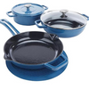 Symon Home 6-piece Enameled Cast Iron Cookware Set Model 652-316 - Ships Quick!
