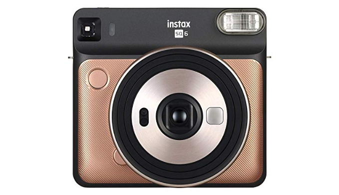 FUJIFILM INSTAX SQUARE SQ6 Instant Film Camera (Renewed)