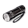 Pack of 3: Hi-Lite 9-LED Flashlights (Batteries Included)!